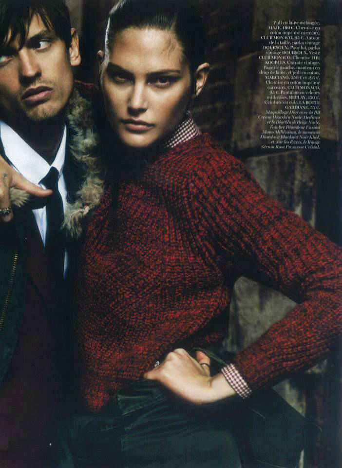 Photo Catherine McNeil for Vogue Paris August 2013 by Claudia Knoepfel & Stefan Indlekofer