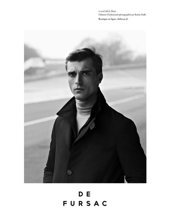 Photo Clément Chabernaud for De Fursac Fall/Winter 2013/2014 Campaign by Karim Sadli