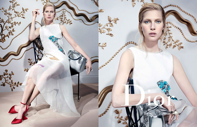 Photo Daria Strokous & Iselin Steiro for Dior Fall/Winter 2013/2014 Campaign