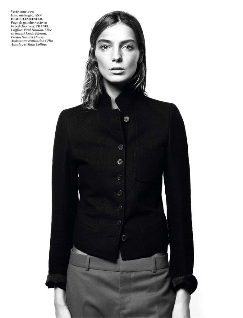 Photo Daria Werbowy for Vogue Paris August 2013 by David Sims