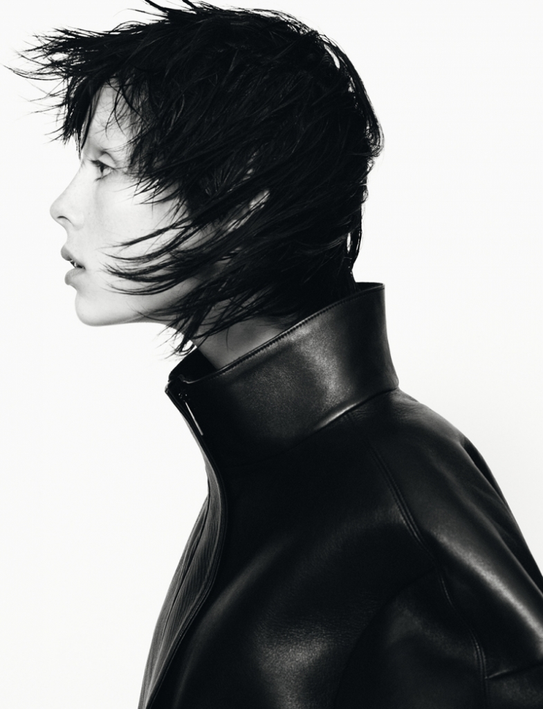 Photo Edie Campbell & Ben Allen for Jil Sander Fall/Winter 2013/2014 Campaign by David Sims