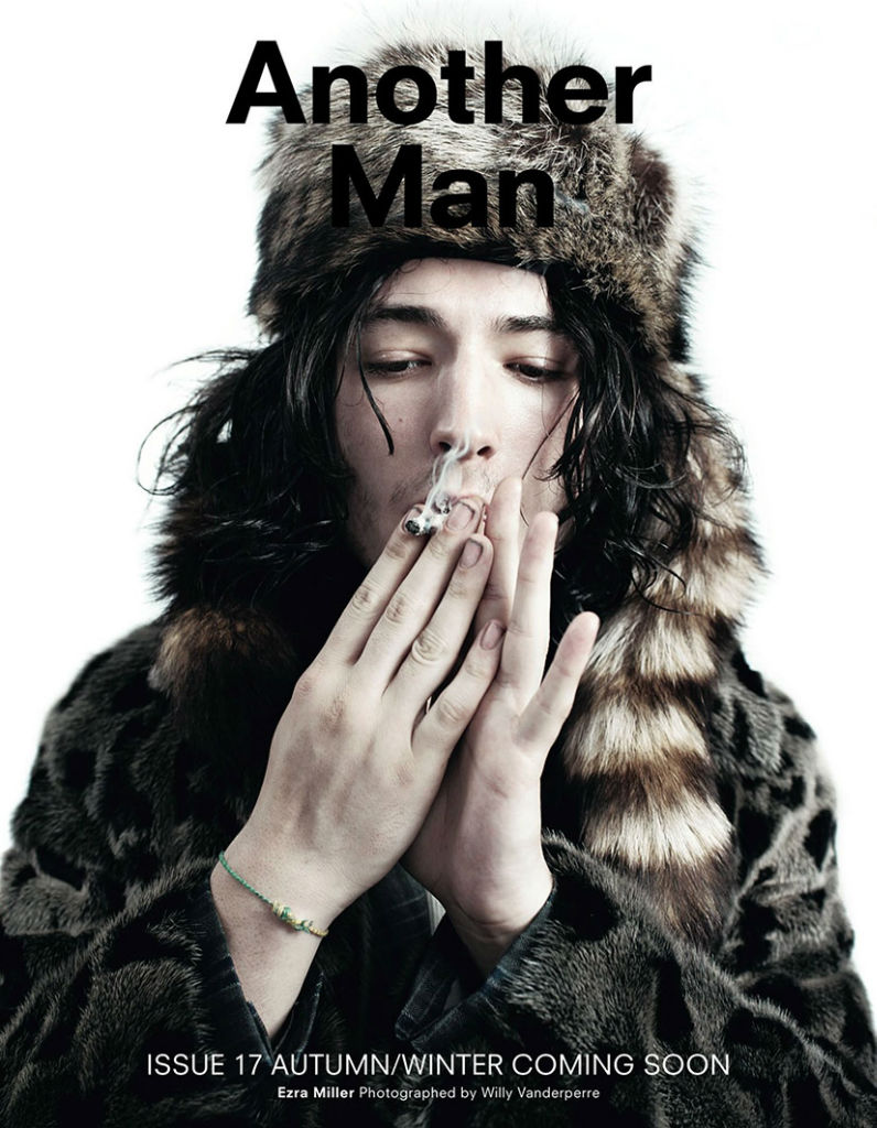 Photo Ezra Miller for AnOther Man Fall/Winter 2013/2014 by Willy Vanderperre