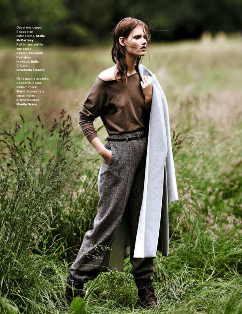 Photo Giedre Dukauskaite for Amica August 2013 by Emma Tempest
