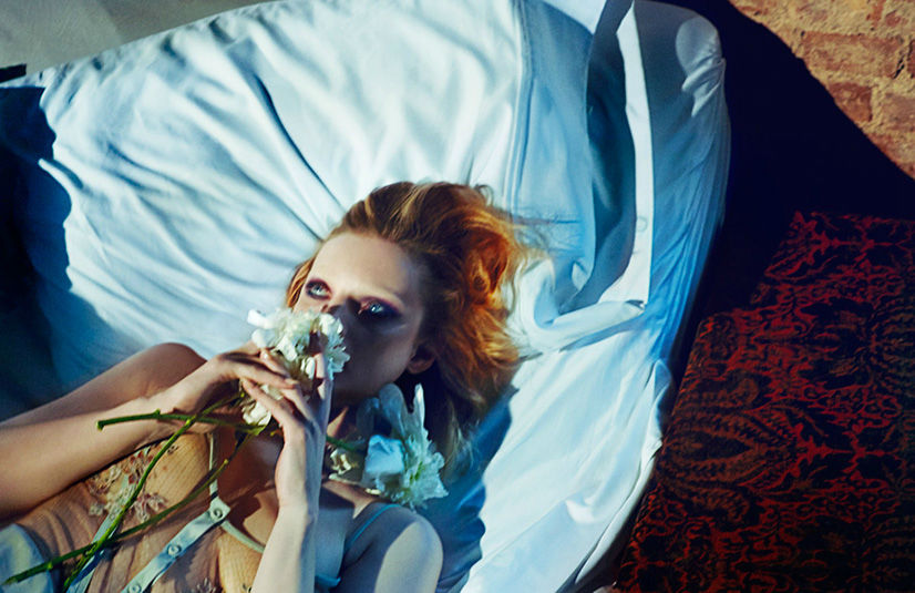 Photo Guinevere van Seenus for Numéro China August 2013 by Txema Yeste
