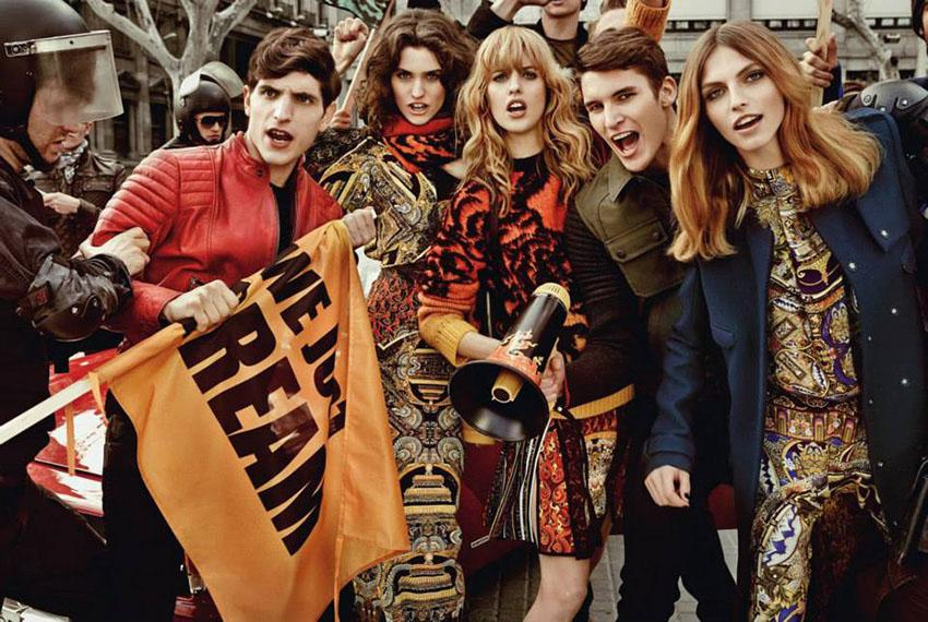 Photo Just Cavalli Fall/Winter 2013/2014 Campaign by Giampaolo Sgura