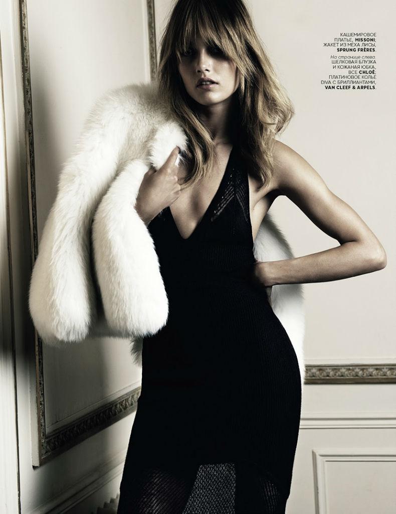Photo Karmen Pedaru for Vogue Russia August 2013 by Claudia Knoepfel & Stefan Indlekofer