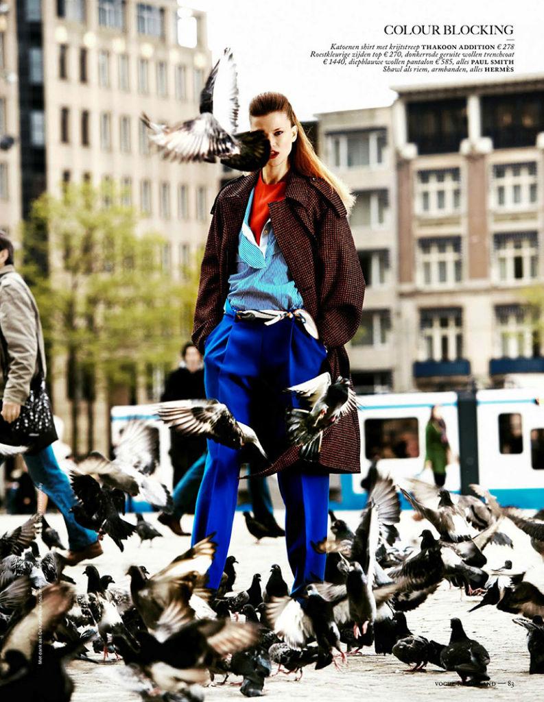 Photo Kasia Struss, Emmanuel Amorin, Dewi Driegen, Raymond Thiry, David Koppelaar, Joeri Vanhoeve & Luca for Vogue Netherlands August 2013
