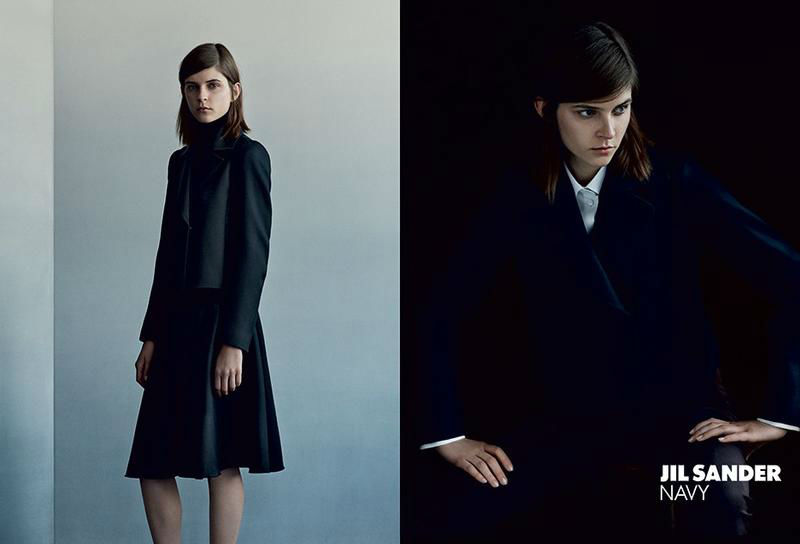 Photo Kel Markey & Maria Loks for Jil Sander Navy Fall/Winter 2013/14 Campaign