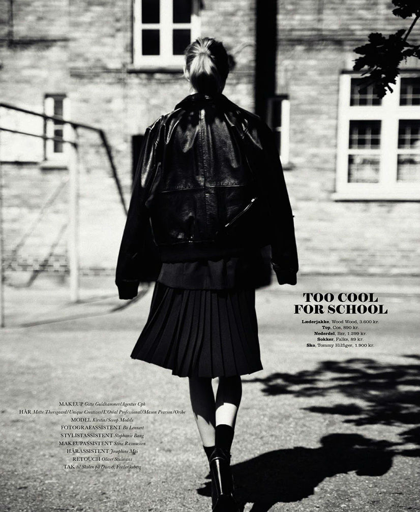 Photo Kirstin Liljegren for Elle Denmark August 2013 by Oliver Stalmans