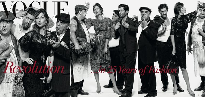 Photo Linda, Gisele, Stella, Natalia, Raquel, Amanda, Meghan & Cameron by Steven Meisel for Vogue Italia July 2013 Covers