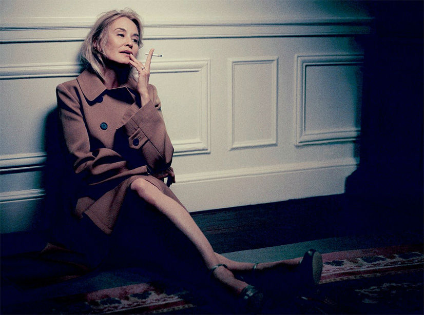 Photo Marc Jacobs & Jessica Lange for LOVE Magazine 10 Fall/Winter 2013/2014