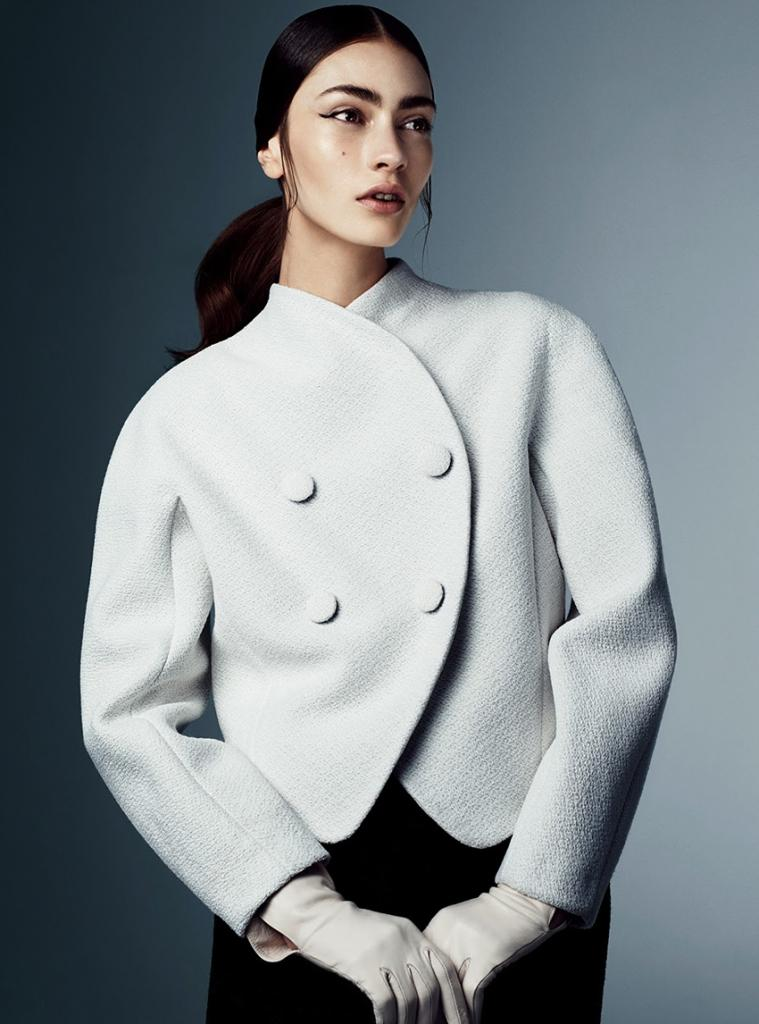 Photo Marine Deleeuw for Vogue Japan August 2013 by Steven Pan