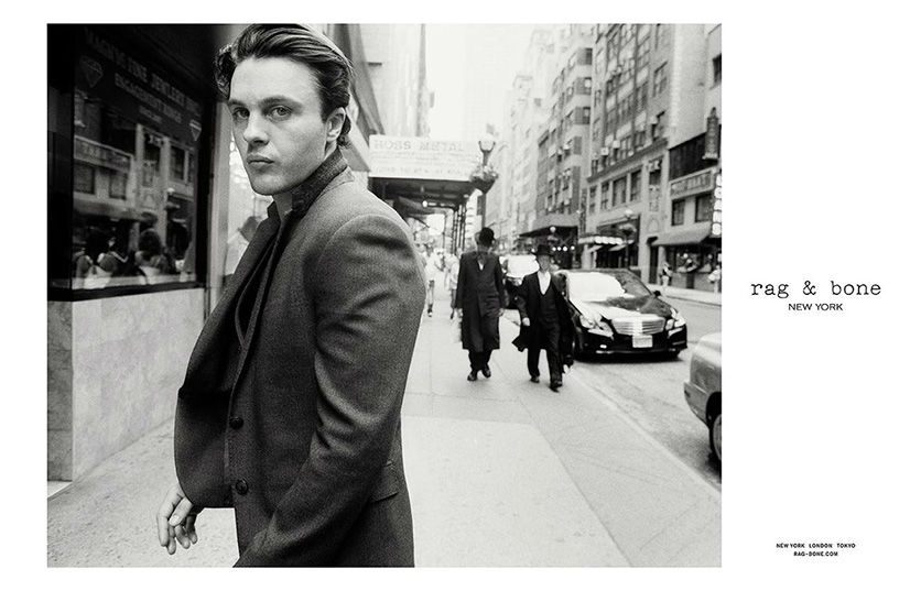 Photo Michael Pitt by Glen Luchford for Rag & Bone Fall/Winter 2013/2014 Campaign