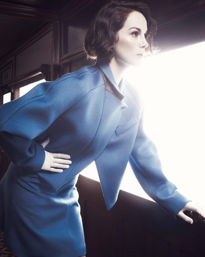 Photo Michelle Dockery by David Slijper for Harpers Bazaar UK August 2013