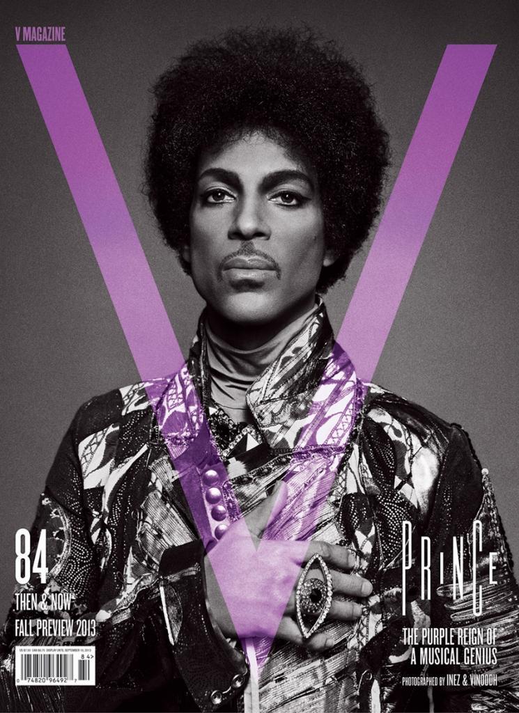 Photo Prince by Inez & Vinoodh for V Magazine Fall 2013