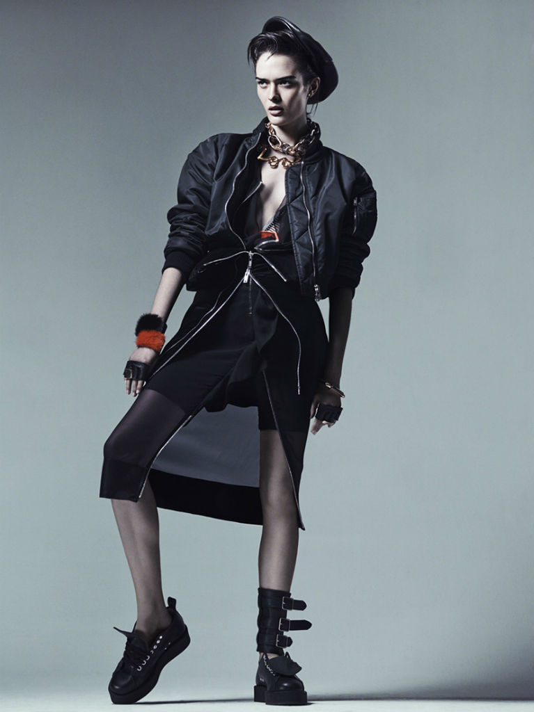 Photo Sam Rollinson by Craig McDean for Interview Magazine August 2013