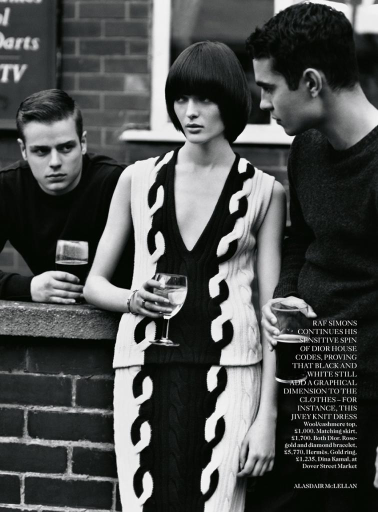 Photo Sam Rollinson & Max Minghella by Alasdair McLellan for Vogue UK August 2013