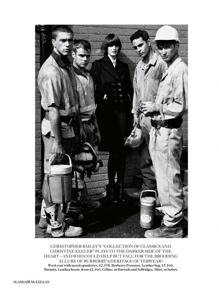 Photo Sam Rollinson & Max Minghella by Alasdair McLellan for Vogue UK August 2013