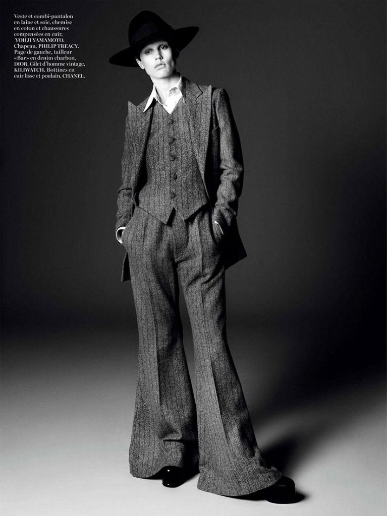 Photo Saskia de Brauw for Vogue Paris August 2013 by David Sims