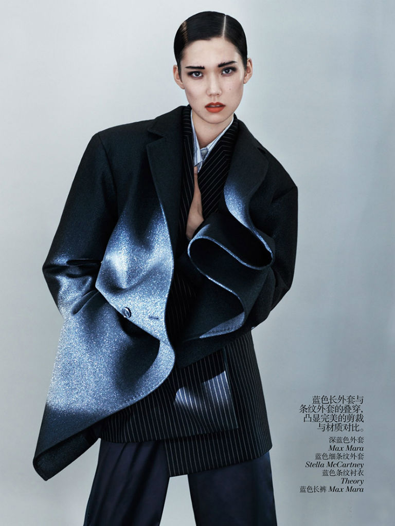 Photo Tao Okamoto by Josh Olins for Vogue China August 2013