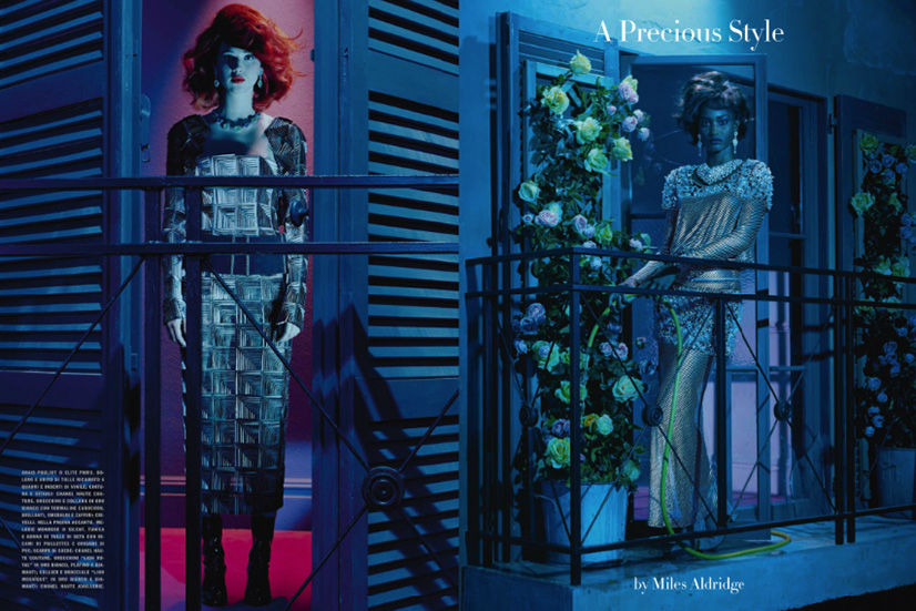 Photo A Precious Style by Miles Aldridge for Vogue Italia September 2013
