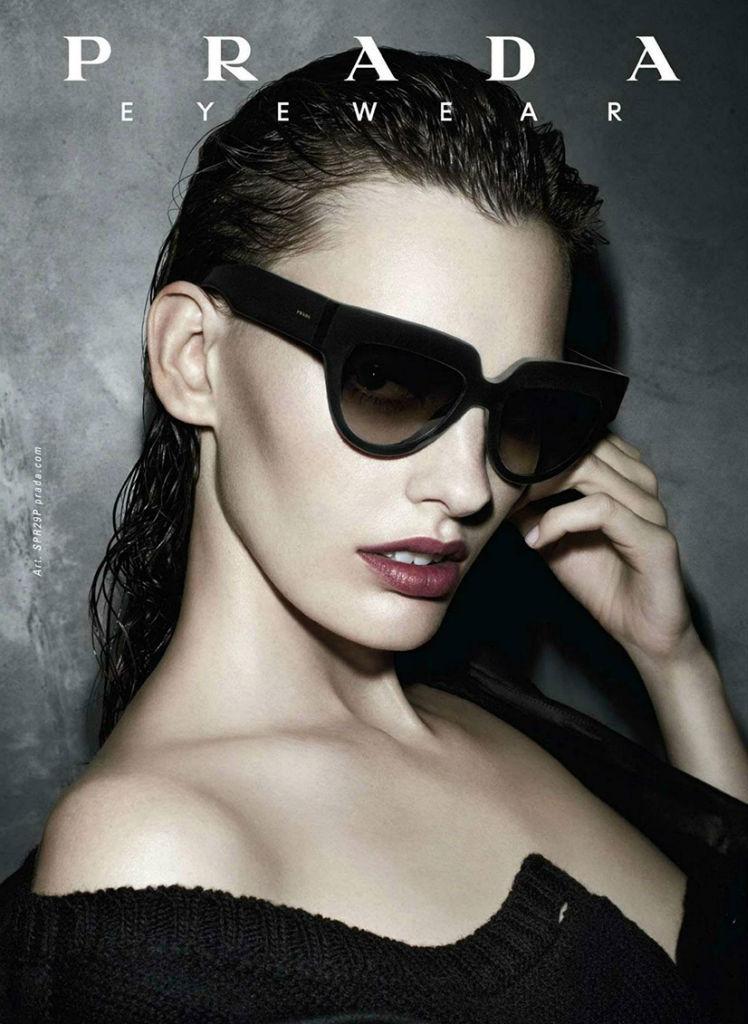 Amanda Murphy For Prada Eyewear Fall Winter 2013 14