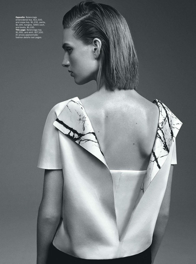 Photo Ashleigh Good for Vogue Australia September 2013 by Benny Horne