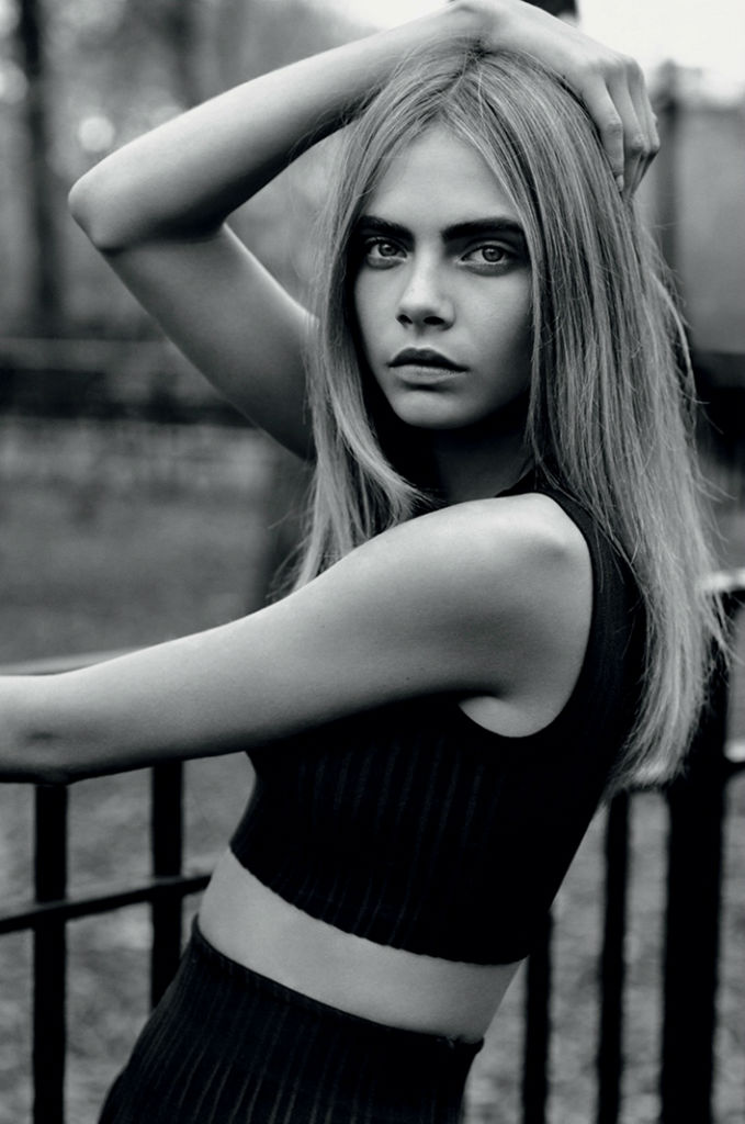 Photo Cara Delevingne by Alasdair McLellan for Industrie Magazine No.6