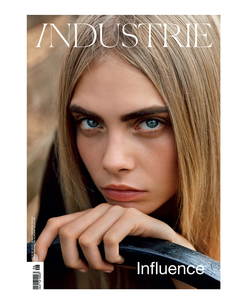 Photo Cara Delevingne by Alasdair McLellan for Industrie Magazine No.6 Cover