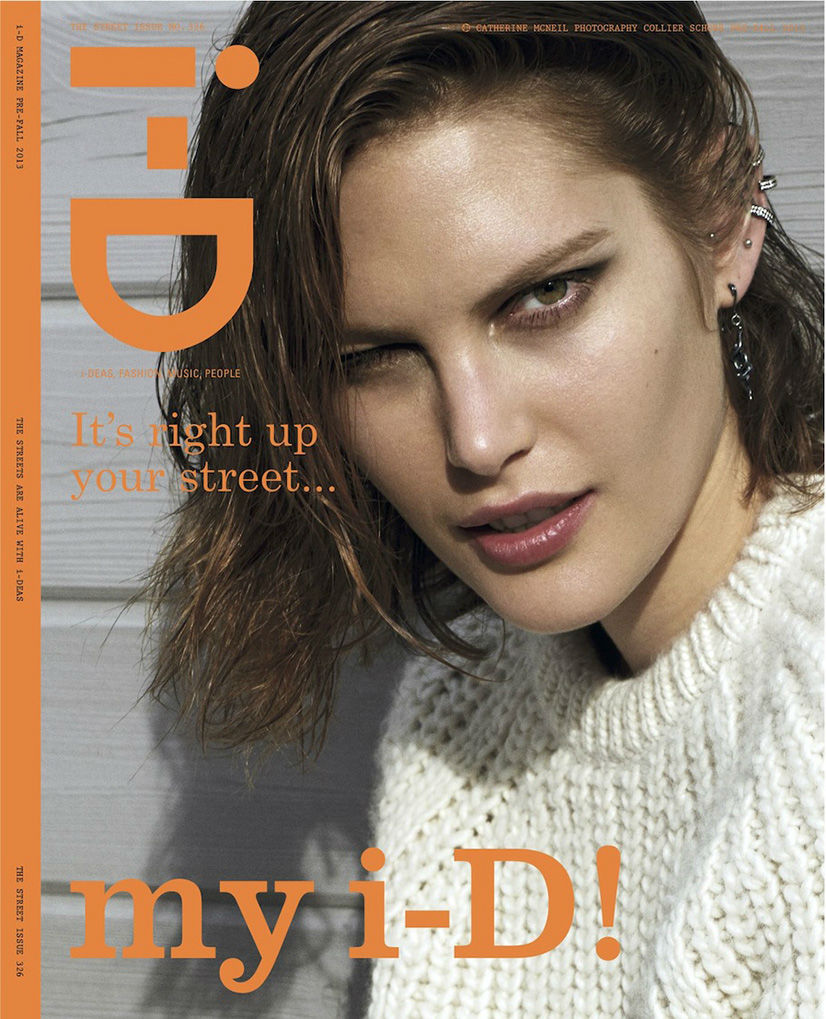 Photo Catherine McNeil for i D Pre Fall 2013 The Street Issue Cover