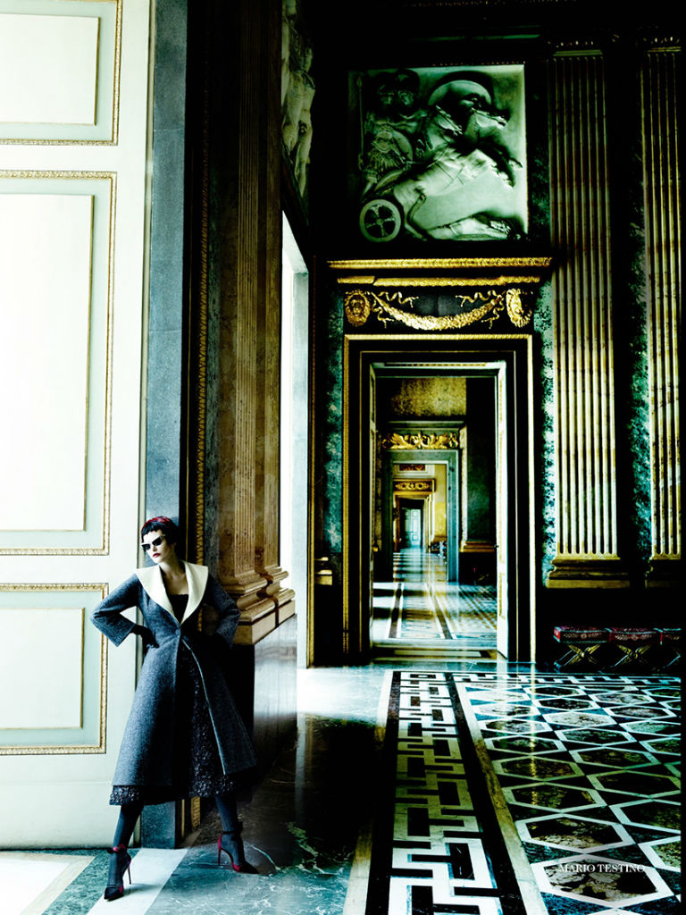 Photo Catherine McNeil for Vogue UK September 2013 by Mario Testino