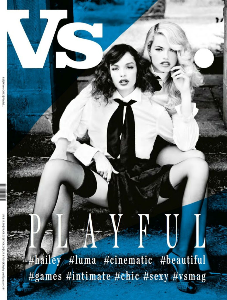 Photo Courtney, Jessica, Eva, Hailey & Luma for Vs. Magazine Fall Winter 2013 2014