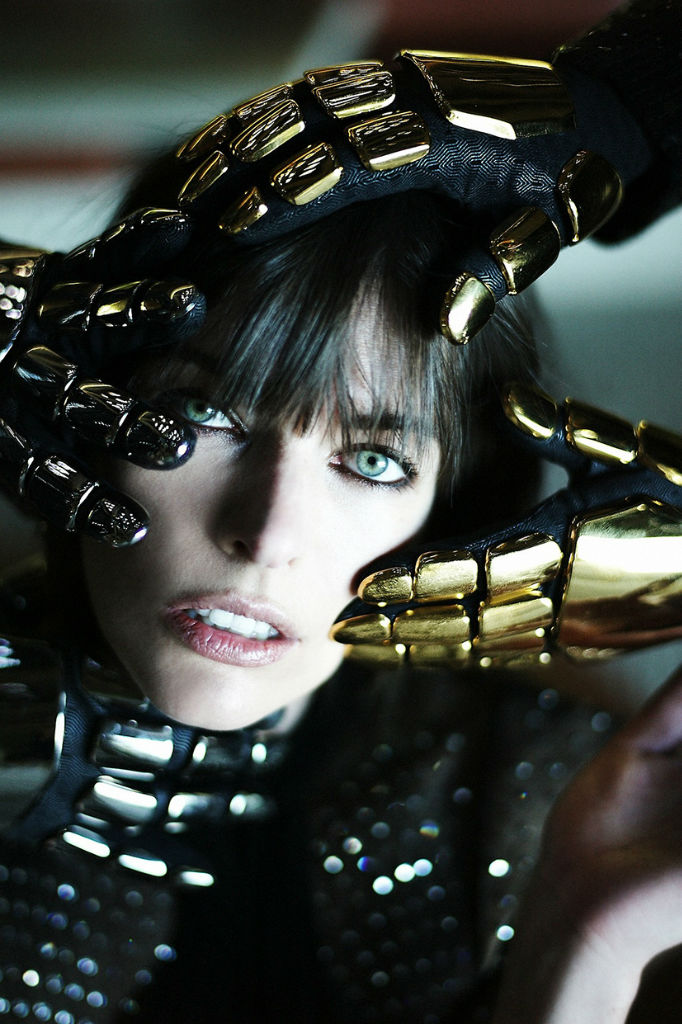 Photo Daft Punk & Milla Jovovich for CR Fashion Book