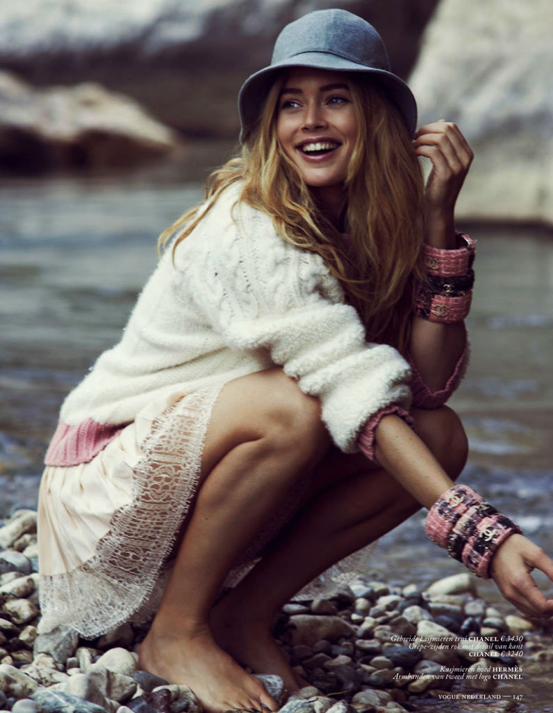 Photo Doutzen Kroes for Vogue Netherlands September 2013
