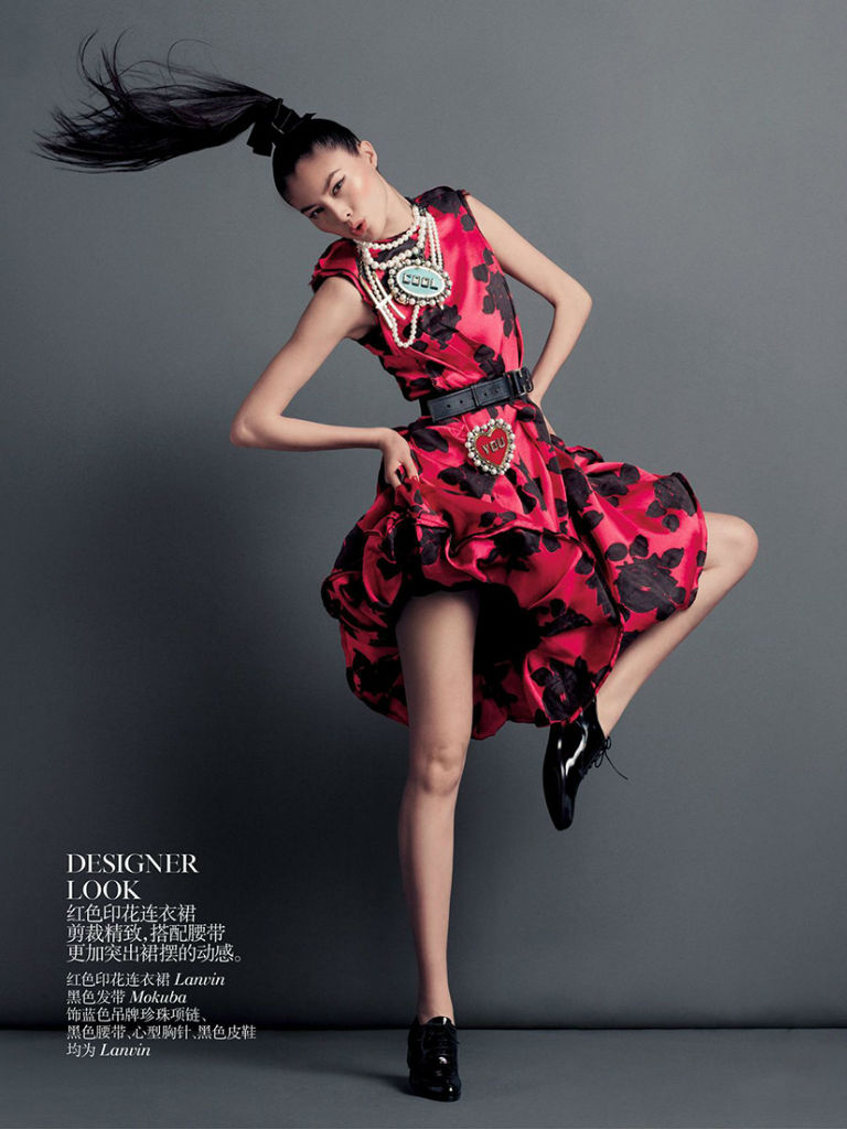 Photo Duality by Inez & Vinoodh for Vogue China September 2013