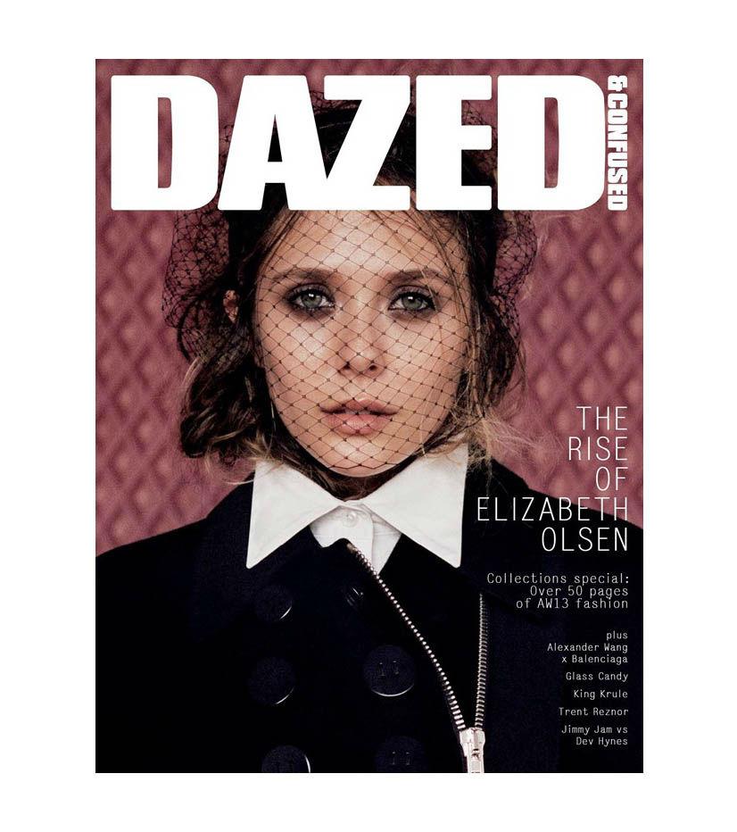 Photo Elizabeth Olsen for Dazed & Confused September 2013