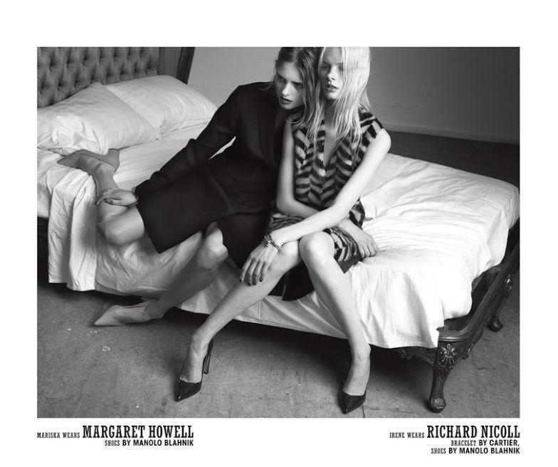 Photo Irene Hiemstra & Mariska Van Der Zee for 10 Magazine Autumn 2013 by Paul Wetherell