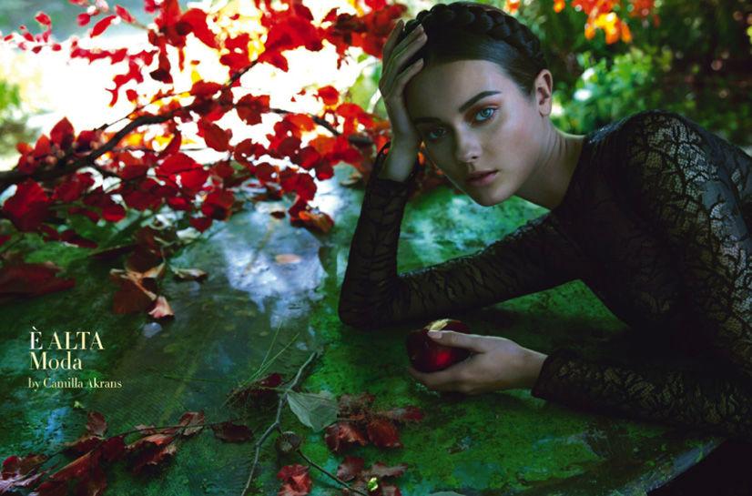 Photo Jac Jagaciak by Camilla Akrans for Vogue Italia September 2013