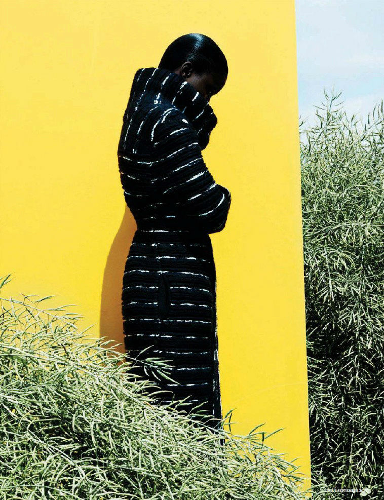 Photo Jeneil Williams by Julia Noni for Vogue Germany September 2013
