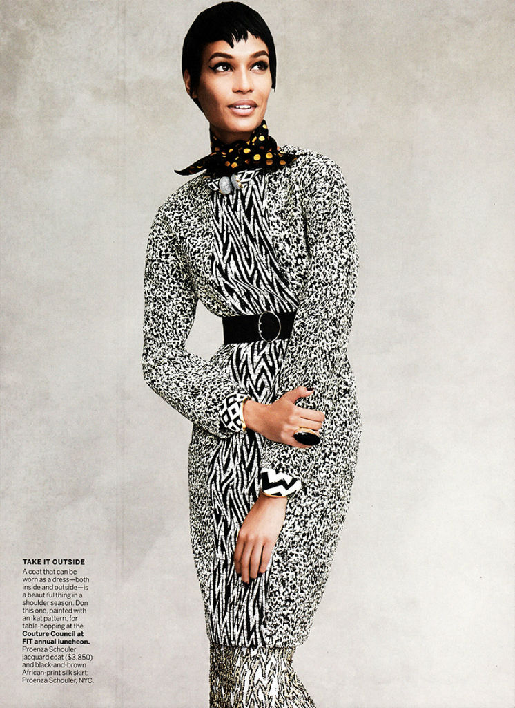 Joan Smalls for Vogue US September 2013