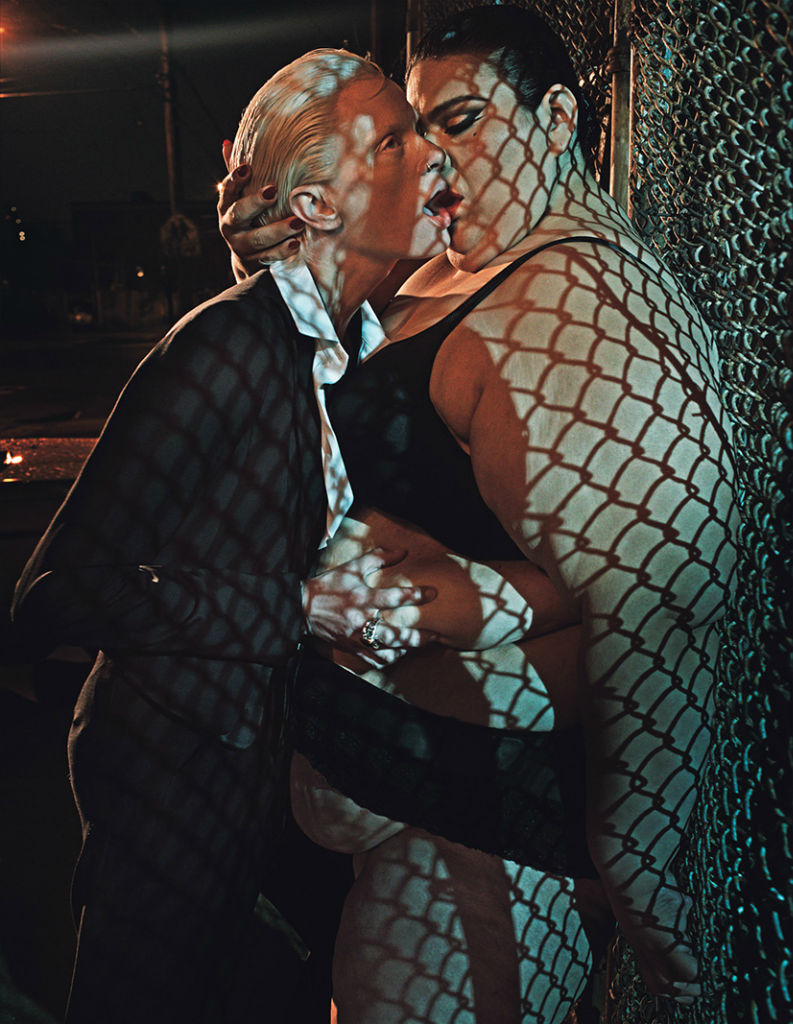Photo Love in All the Wrong Places by Steven Klein for W Magazine Setember 2013