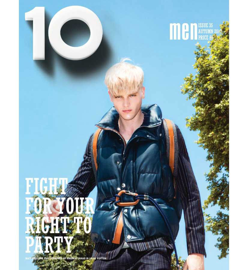 Photo Matt McGlone for 10 Men Autumn 2013