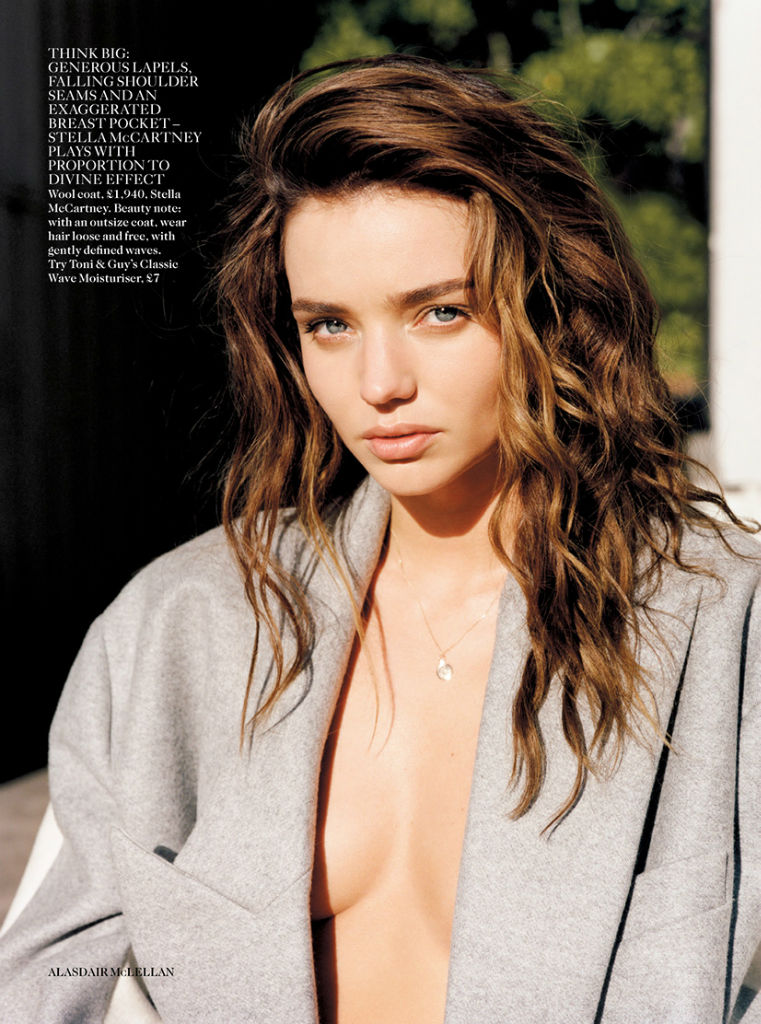Photo Miranda Kerr for Vogue UK September 2013 by Alasdair McLellan