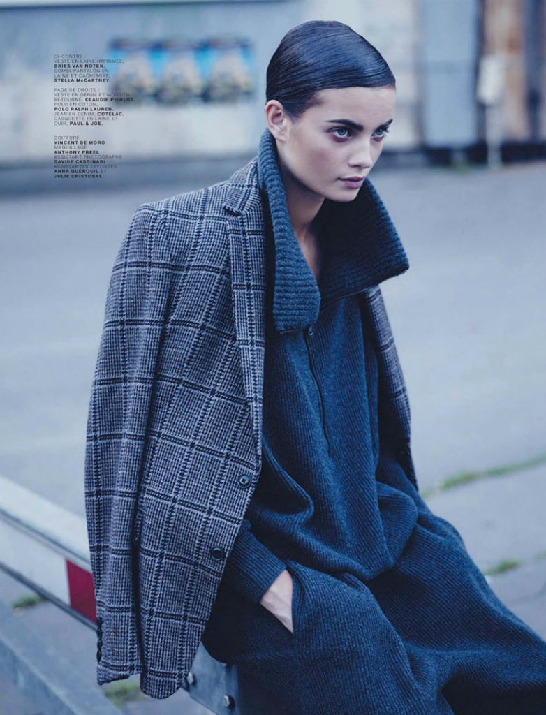 Photo Moa Åberg by Stian Foss for Jalouse Magazine September 2013