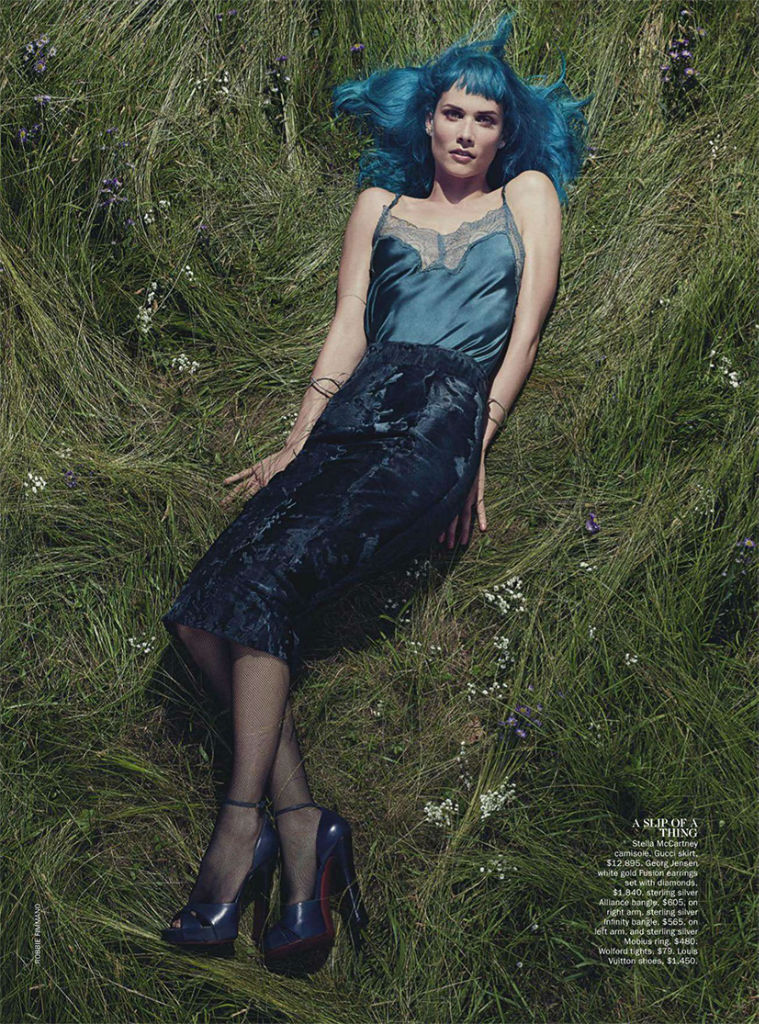 Photo Oh Land for Vogue Australia September 2013 by Robbie Fimmano