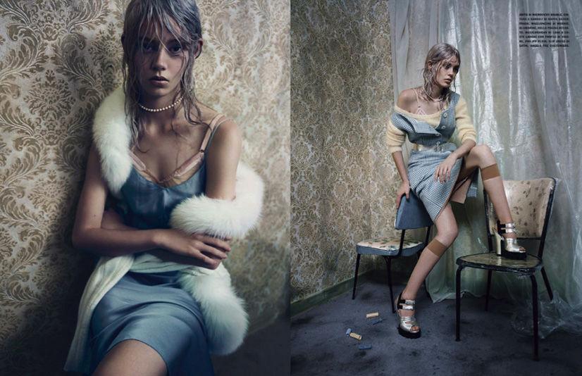 Photo Ondria Hardin by Paolo Roversi for Vogue Italia September 2013