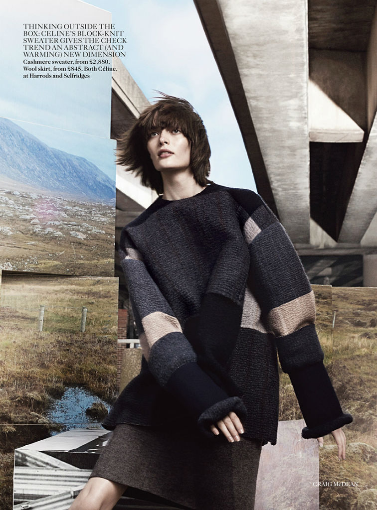 Photo Sam Rollinson, Amanda Murphy & Maria Loks by Craig McDean for Vogue UK September 2013