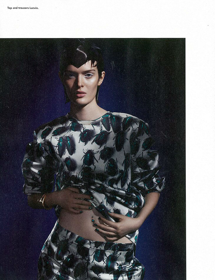 Photo Sam Rollinson for i D Pre Fall 2013 The Street Issue by Daniel Sannwald