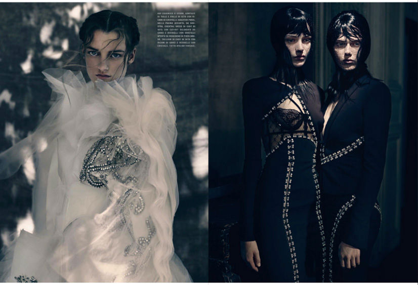 Photo The HCS Vagaries by Paolo Roversi for Vogue Italia September 2013