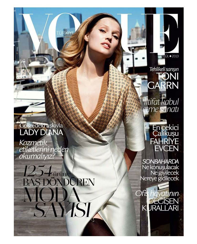Photo Toni Garrn by Cedric Buchet for Vogue Turkey September 2013